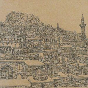 Mardin Castle Turkey 300x300 - Cảm hứng Artline #5: Vẽ ký họa kiến trúc với bút kỹ thuật Artline