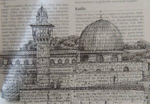 Mescid i Aksa Kudüs Filistin 300x208 - Cảm hứng Artline #5: Vẽ ký họa kiến trúc với bút kỹ thuật Artline