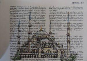Nhà thờ Hồi giáo Xanh Mimar 300x212 - Cảm hứng Artline #5: Vẽ ký họa kiến trúc với bút kỹ thuật Artline