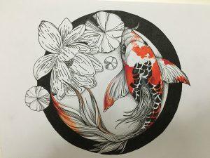 ayla acet isimsiz 300x225 - Cảm hứng Artline #1: Bộ tranh minh chứng cho sự kết hợp hoàn hảo giữa bút đi nét Artline và mực màu dạ quang