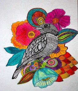 ayla acet renkler 256x300 - Cảm hứng Artline #1: Bộ tranh minh chứng cho sự kết hợp hoàn hảo giữa bút đi nét Artline và mực màu dạ quang