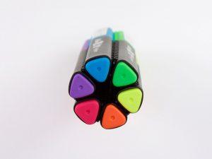 bút dạ quang màu đẹp 1