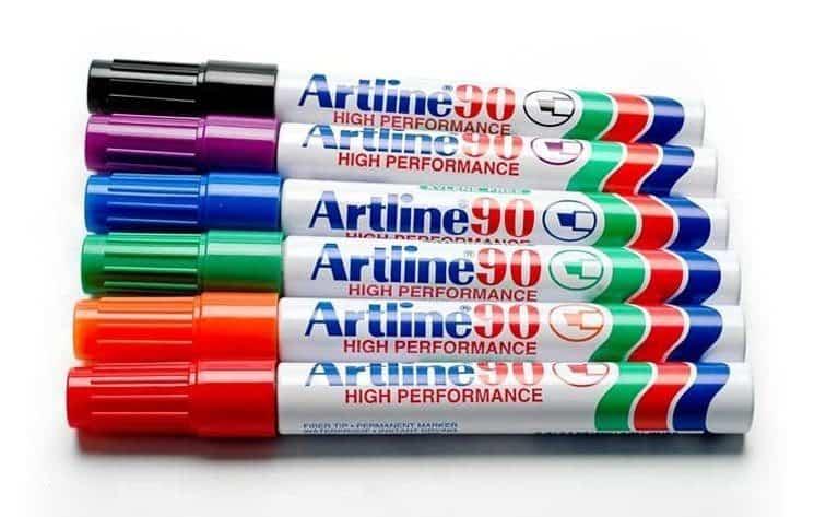bút lông dầu 3