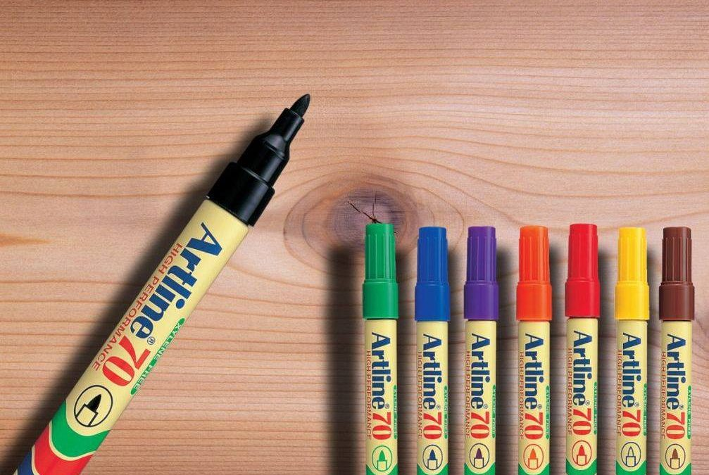 bút lông dầu không phai