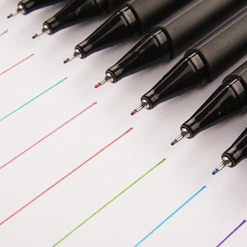 bút lông kim Artline supreme9 001