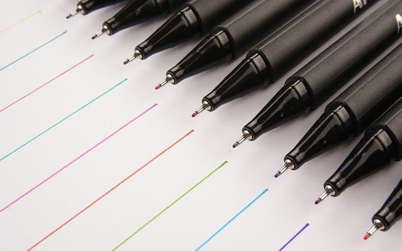 bút lông kim Artline supreme9