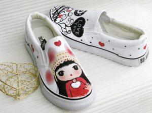 """but ve len ao artline shachihata japan 13 2 300x224 - """"Phù phép"""" cho những đôi giày đơn điệu"""