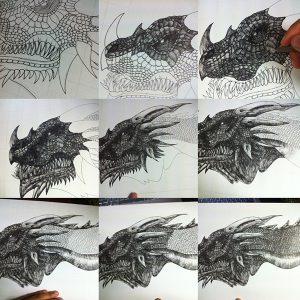 de978717472797.562ba7115a05c 300x300 - Hướng dẫn vẽ con rồng bằng bút kỹ thuật Artline
