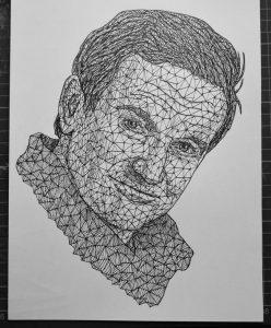 robin williams triangulation by eliasmadan d8uj7nu 248x300 - Cảm hứng Artline #7: Bộ tranh vẽ chân dung nhân vật điện ảnh theo phong cách độc đáo