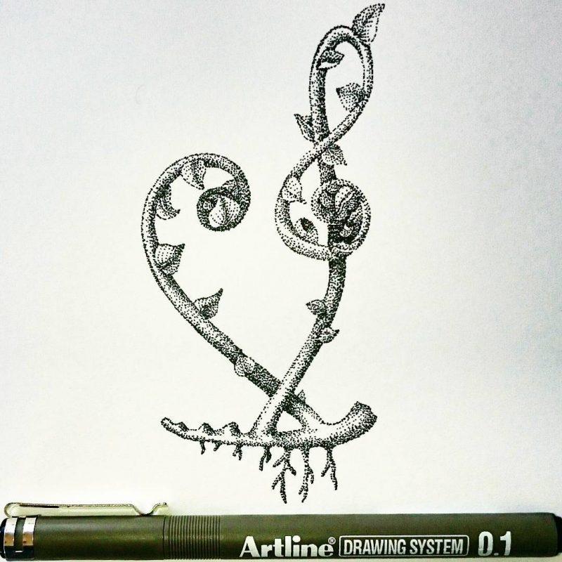 11410455 398062333718811 1315867200 n 002 - Cảm hứng Artline #27: Những artwork mini siêu dễ thương bằng bút kỹ thuật Artline