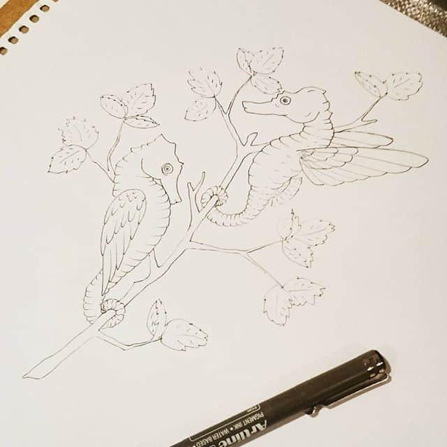 13671827 1147344318670965 41956206 n - Cảm hứng Artline #27: Những artwork mini siêu dễ thương bằng bút kỹ thuật Artline