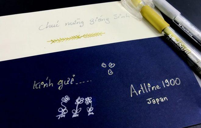 Bút kim tuyến viết thiệp cưới min