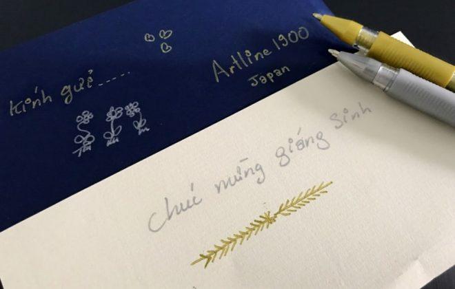 Bút nhũ kim tuyến viết thiệp cưới min
