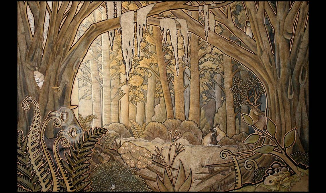 the bronze forest by ravenari d4acqsv