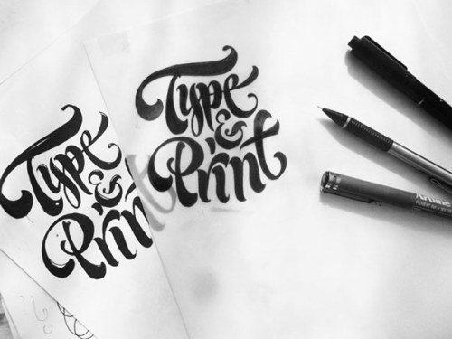 tumblr nquapkrkww1qkxrtro4 500 - Cảm hứng Artline #26: Những tác phẩm typography cá tính