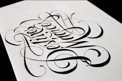 tumblr nrws58DhFI1s7zw1ho4 500 - Cảm hứng Artline #26: Những tác phẩm typography cá tính