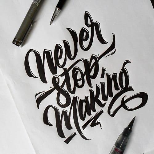 tumblr nt8y37KnbZ1s7zw1ho1 500 - Cảm hứng Artline #26: Những tác phẩm typography cá tính