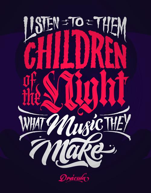 tumblr nwzxjxEsmH1qcq8vao1 500 - Cảm hứng Artline #26: Những tác phẩm typography cá tính