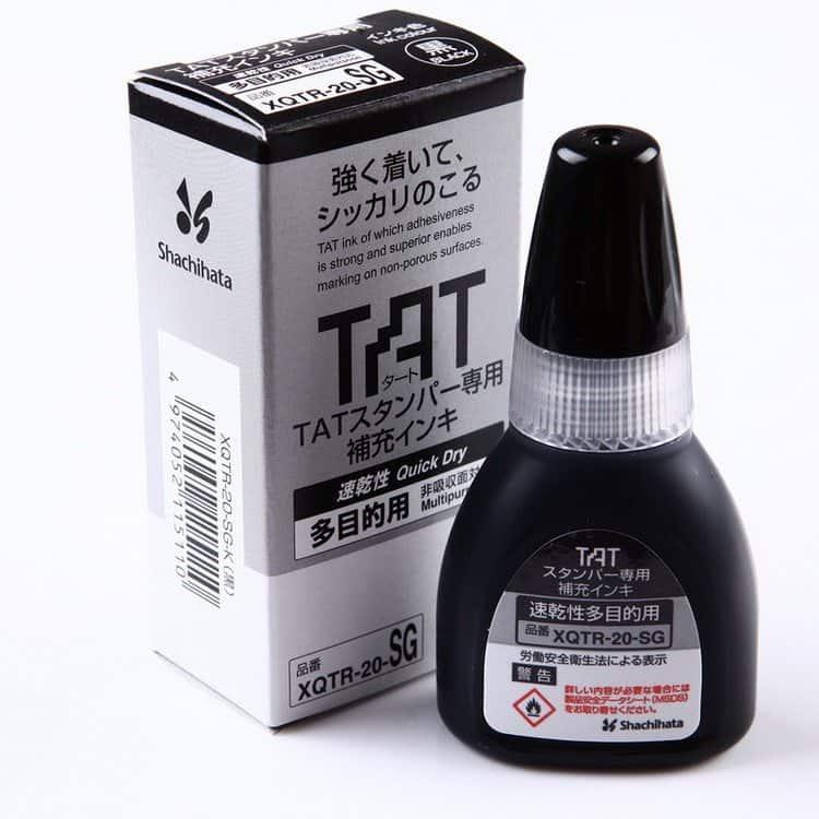 mực đổ dấu xstamper TAT black