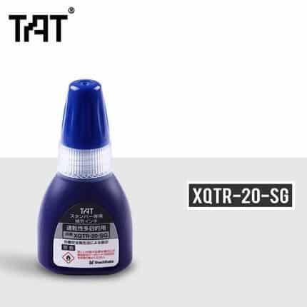 mực đổ dấu xstamper TAT blue