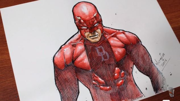daredevil but ve ky thuat artline
