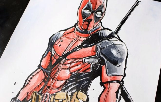 deadpool but ve ky thuat artline