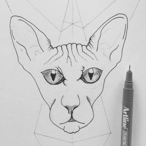 Tác phẩm dotwork ấn tượng bằng bút vẽ kỹ thuật Artline 11