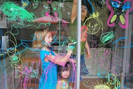 Không gian vui chơi cho bé trong nhà