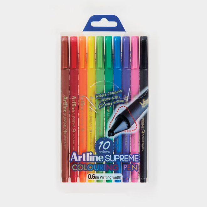 bộ bút tô màu supreme Artline
